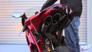 Download Extended Raw Sound Clip : Ducati 848 1098 1198 Toce Exhaust video by TST Industries Video