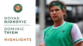 Download Novak Djokovic v Dominic Thiem Highlights - Men's Quarterfinals 2017 | Roland-Garros Video