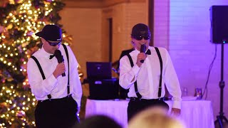 Download Brothers of the Bride Do a Surprise Rap/Toast at Wedding Reception Video