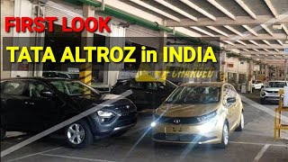 Download Scoop | Production Spec Tata Altroz Spied First Time In India Sans Camouflage Video