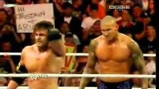 Download WWE Randy Orton destroys Sheamus Video