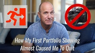 Download How My First Portfolio Showing Almost Caused Me To Quit Video