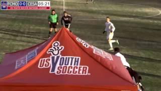 Download 2016 National League - Boys - U18 - FC Montco vs CESA 99 - Field 2 - Day 2 - 4pm Video