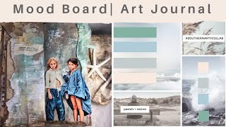Download Inspiration/ Mood Board Art Journal Collaboration Page Video