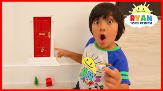 Download Ryan Found A Secret Door in our house to the North Pole for Christmas! Video