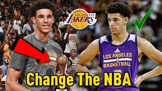 Download Why Lonzo Ball Will CHANGE THE NBA and Win MULTIPLE Championships As A Laker! Video