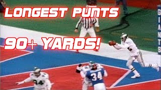 Download NFL Top 5 Longest Punts of All Time Video