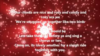 Download The Ronettes - Sleigh Ride (Lyrics) Video