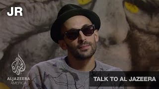 Download Guerrilla Artist JR - Talk to Al Jazeera Video
