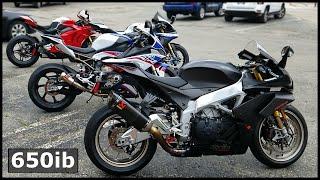 Download Dyno MADNESS | 2020 S1000RR, ZX10RR, R1M, RSV4 1100 Factory vs Ducati V4R Video
