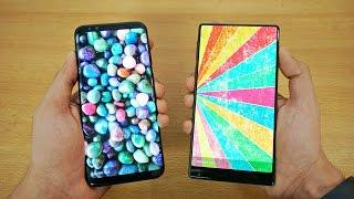 Download Samsung Galaxy S8 Plus vs Xiaomi MI MIX - Speed Test! (4K) Video