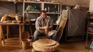 Download Bisalhães black pottery manufacturing process Video