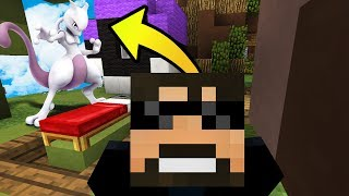 Download MY WIFE IS A BETTER MEWTWO THAN ME?! (NEW Minecraft Pokemon BedWars) #1 Video
