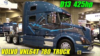 Download 2016 Volvo VNL64T 780 Truck with Volvo D13 425hp Engine -Ext, Int Walkaround - 2015 Expocam Montreal Video