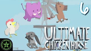 Download Let's Play - Ultimate Chicken Horse - Chicky Doo Goo (#6) Video