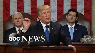 Download President Trump boasts rising wages, massive tax cuts Video