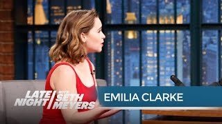 Download Game of Thrones' Emilia Clarke: Dothraki Is a Real Language Video