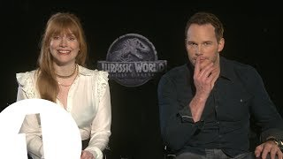 Download ″This is classic Jurassic!″ Chris Pratt & Bryce Dallas Howard talk Jurassic World 2 Video