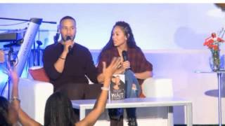 Download Woman comes at Meagan Good incorrectly Video