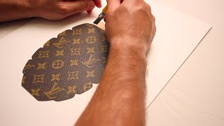 Download The making of Louis Vuitton Grenade by Javier Martin Video