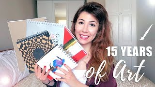 Download Sketchbook Tour: 15 YEARS OF ART! | Atousa Video