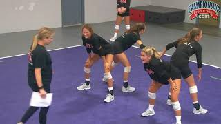 Download Inside Out Passing Volleyball Drill from Anne Kordes! Video