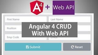 Download Angular 4 CRUD With Web API Video