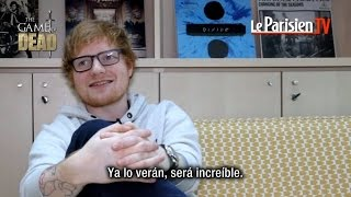 Download Ed Sheeran habla de su papel en GoT / Reacción al recibir la espada de Jon Snow (Subtitulado) Video