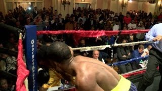 Download Detroit's Tony Harrison knocks out Gary Brewer, stays unbeaten Video