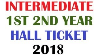 Download How to Download AP Intermediate Hall Tickets for 2018 Video