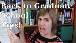 Download Back to Graduate School Tips! Video