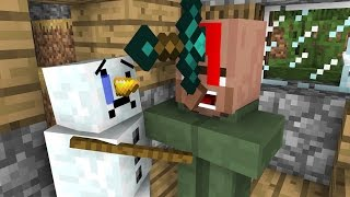 Download Snowman Life - Minecraft Animation Video