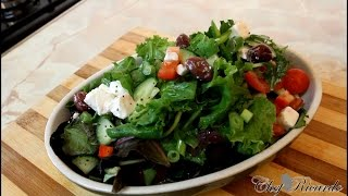 Download Feta Cheese Salad Recipe Easy To Make Video