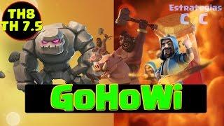 Download TH8 y TH7.5: Cómo Hacer el Ataque GoHoWi (Gólem, Montapuercos y Magos) Ayuntamiento 8 ǀ ECOC Video
