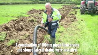 Download Draining a heavy sloped field in Co Meath Video