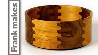 Download Wood Turned Finger Jointed Bowl Video