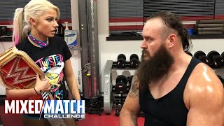 Download Braun Strowman stands up for WWE Mixed Match Challenge partner Alexa Bliss Video