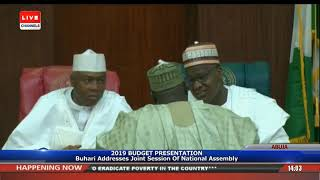 Download President Buhari Presents 2019 Appropriation Bill To NASS Pt.6 |Live Event| Video