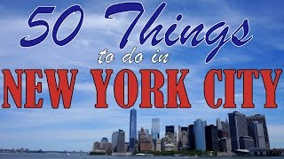 Download 50 THINGS TO DO IN NEW YORK CITY | Top Attractions Travel Guide Video