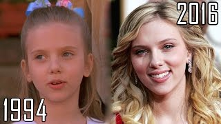 Download Scarlett Johansson (1994-2016) all movies list from 1994! How much has changed? Before and Now! Video