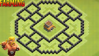 Download Clash of Clans Town Hall 8 (Th8) Best Farming Base Video