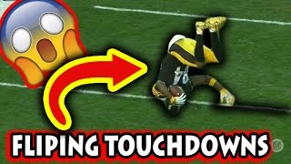 Download Greatest Flip Touchdowns in Football History Video