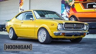 Download [HOONIGAN] DT 195: 1976 Toyota Corolla SR5 and Scion Riley Hawk xB Video