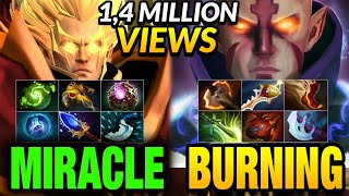 Download Miracle Invoker vs Burning Anti-mage - Liquid vs IG - LEGENDARY MATCH Video