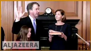 Download 🇺🇸 Brett Kavanaugh sworn in as US Supreme Court justice | Al Jazeera English Video