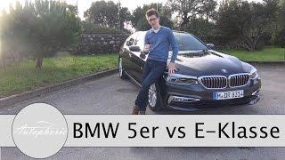 Download 2017 BMW 5er (G30) vs. 2017 Mercedes-Benz E-Klasse (W213) Pro und Contra Talk - Autophorie Video