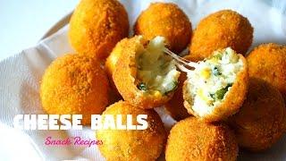 Download Cheese Balls   Cheesy Snacks   Ramadan Recipes Video