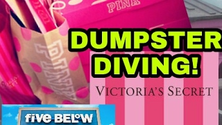 Download FINDING MORE VICTORIA'S SECRET and FIVE BELOW DUMPSTER DIVING!! Video