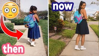 Download Recreating My Awkward Childhood Photos! THEN vs. NOW! Natalies Outlet Video
