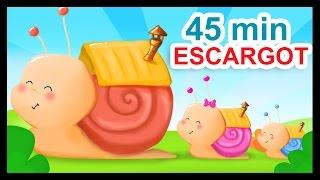 Download Petit escargot et 45 min de comptines à gestes et chansons pour bébés Video